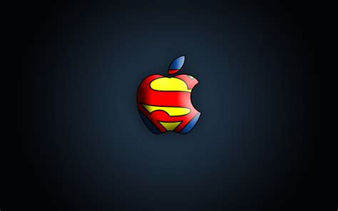 cool wallpaper brands superman apple logo wallpaper 1319671