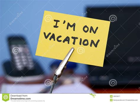 On Vacation I Am On Vacation Stock Image Image 28633871