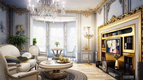Home Decor Design News Interior Design Royal Classic Living Room Beautiful