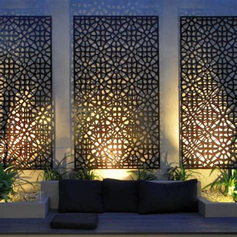 outside wall designs 25 unique outdoor wall decorations ideas on pinterest