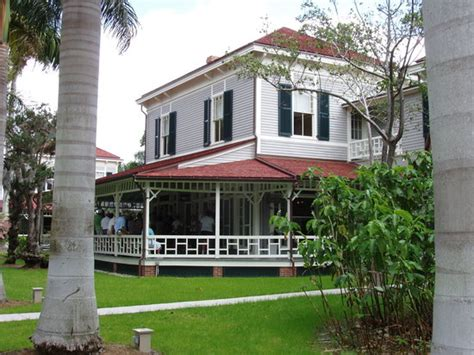ford edison house edison ford winter estates fort myers fl on