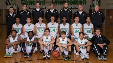 concord high school basketball 2014 15 boys basketball team pictures concord minutemen