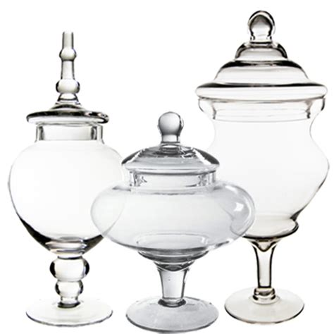 Cheap Glass Vases For Buffet by Wholesale Glass Vases Buffet Apothecary Jars Set