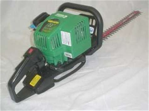 weed eater 18 inch blade excalibur gas power hedge trimmer