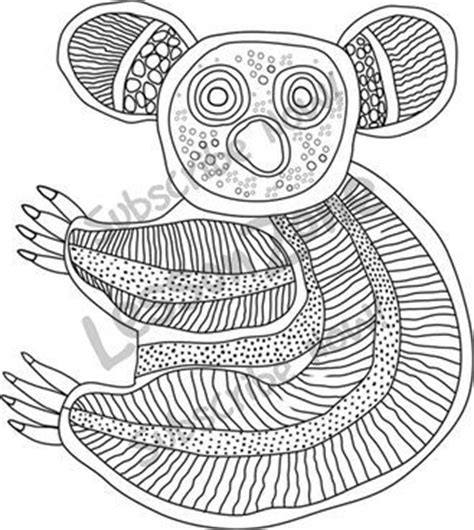 aboriginal patterns coloring pages aboriginal animal templates google search mandala love