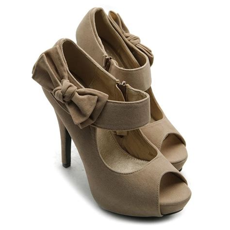 Cheap Shoes by Cheap Open Toe High Heel Shoes With Bow For