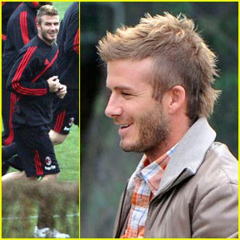 david beckham hairstyles 2009 david beckham is a milan mohawk man david beckham just