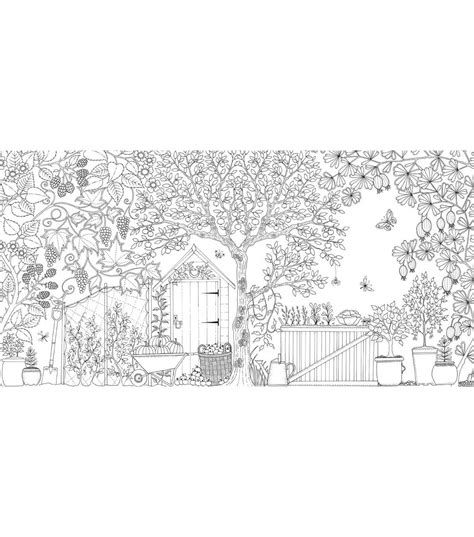 secret garden colouring in book nz secret garden coloring book chronicle books joann