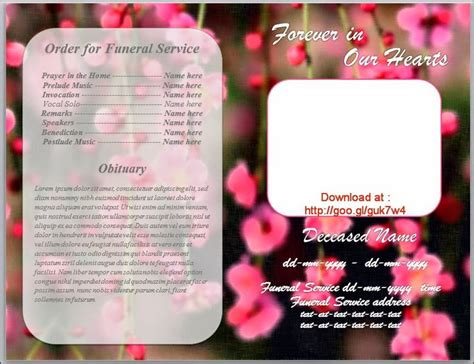 79 best images about funeral program templates for ms word
