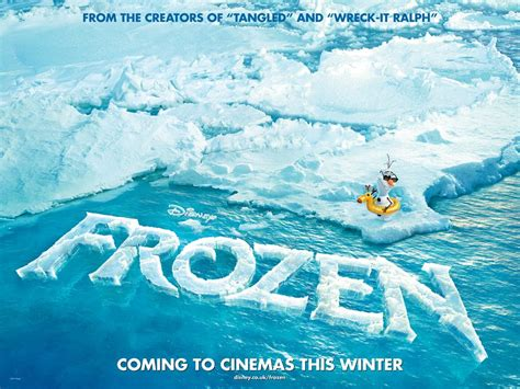 frozen film poster icy new teaser poster for disney s quot frozen quot rotoscopers