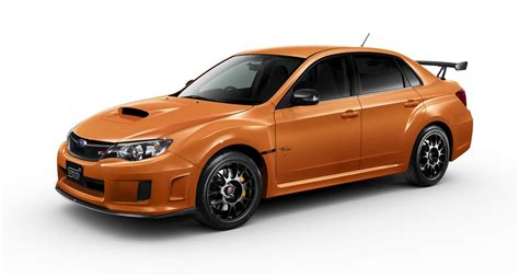 subaru wrx sti orange 2013 subaru wrx sti ts type ra orange