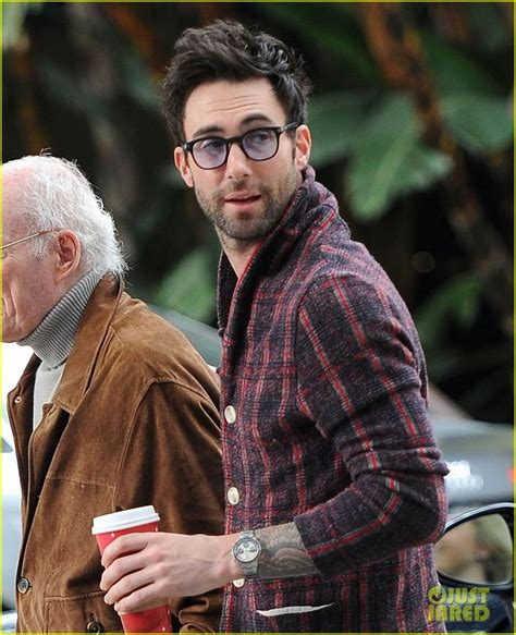 adam levine you wear glasses you have hair and