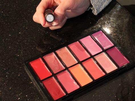 Lipstik Make Palette create your own mac pro lipstick palette
