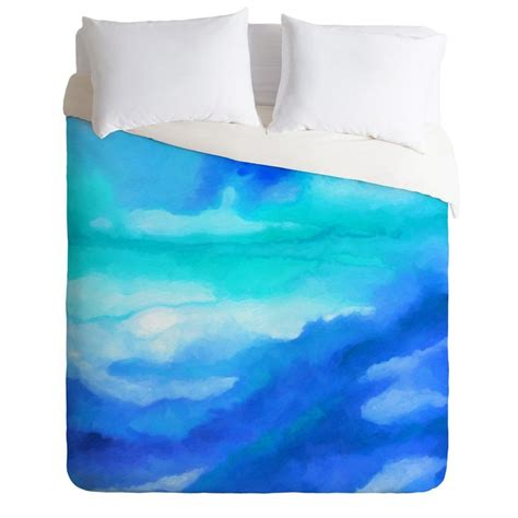 watercolor bedding elisabeth fredriksson colorland duvet cover watercolors