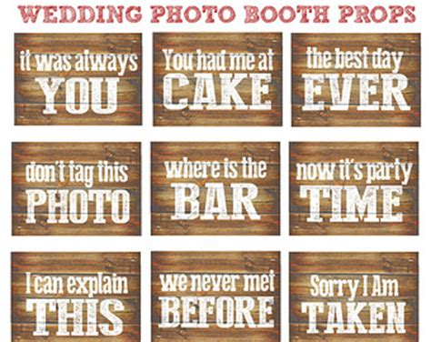 vintage printable photo booth props wedding photobooth etsy