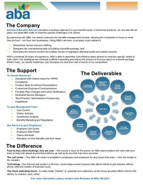 Outsourcing Agreement Template aba one pager