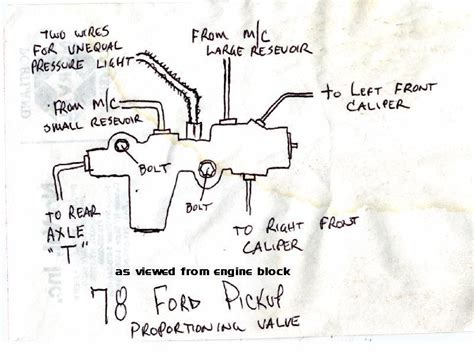 proportioning valve diagram chevy proportioning valve diagram pictures to pin on
