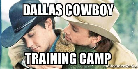 Dallas Memes - dallas cowboy training c make a meme