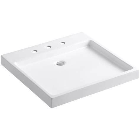 Kohler Purist Wading Pool Fireclay Vessel Sink In White K