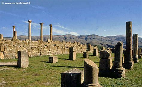 consolato italiano in algeria algeria la citt 224 romana di djemila motortravel