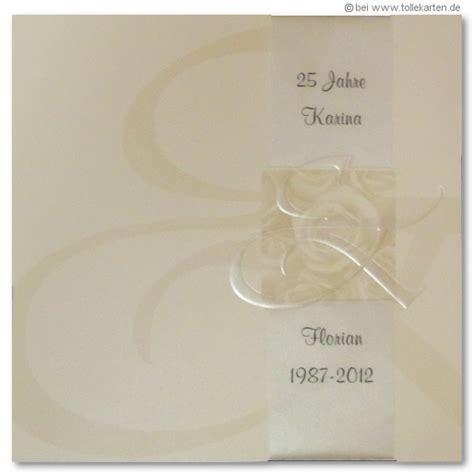 Einladung Silberhochzeit Modern by Silberhochzeit Einladungskarten