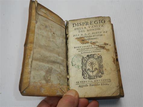 r p f diego di dispregio della vanita mondo 1584