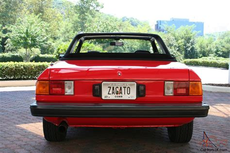 1979 Lancia Zagato 1979 Lancia Beta Zagato Spider