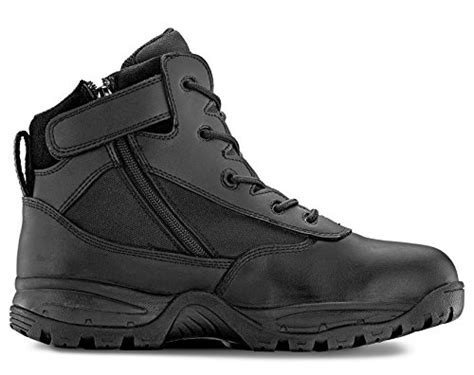 most comfortable law enforcement boots maelstrom men s patrol 6 quot black waterproof boots with