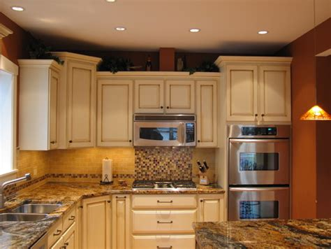 refurbished kitchen cabinets are the cabinets refurbished with just crown molding on top and front