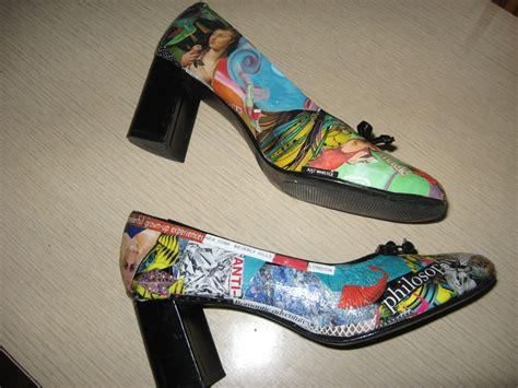 Decoupage On Shoes - 39 best images about decoupage shoes on new