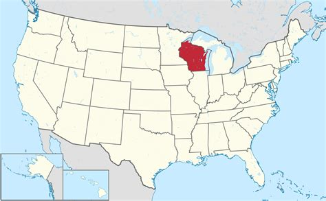 wisconsin on us map list of cities in wisconsin