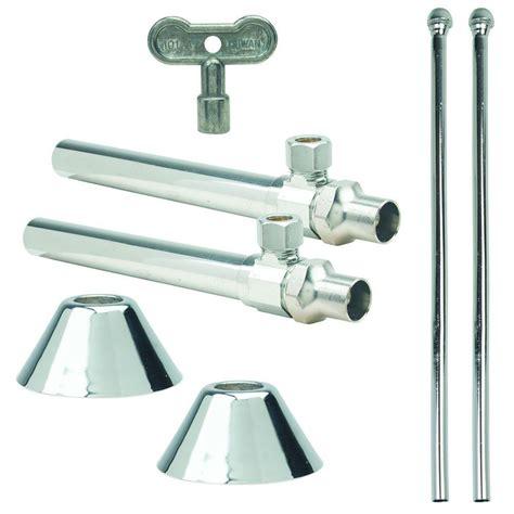Brasscraft Faucet by Brasscraft Faucet Kit 1 2 In Nom Sweat X 3 8 In O D