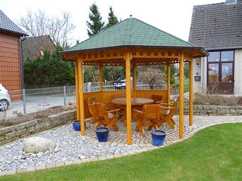 Pavillon 8 Eck by Schliephake Rustikale Gartenm 246 Bel Und Pavillons 8 Eck