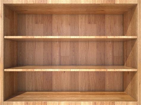 empty bookshelves wallpaper