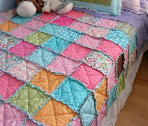 rag doll quilt block easiest thrifty rag quilt favequilts