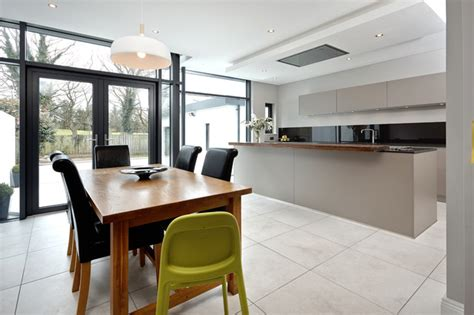 contemporary kitchen extensions extension to semi detached house bangor northern ireland