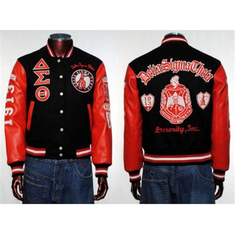 Jk0001 Jaket Ndx Aka Sweater Hodie delta sigma theta sorority wool sleeve letterman jacket s 3xl clothing shoes