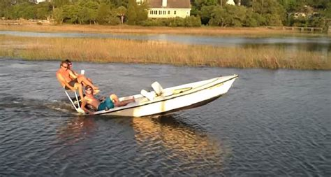 small boat fails you laugh you lose redneck water wheelie goes wrong