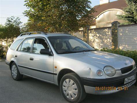 Toyota Corolla E11 1998 Toyota Corolla E11 Pictures Information And