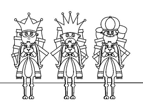 imagenes para pintar reyes magos dibujo de reyes magos en camello para colorear dibujos net