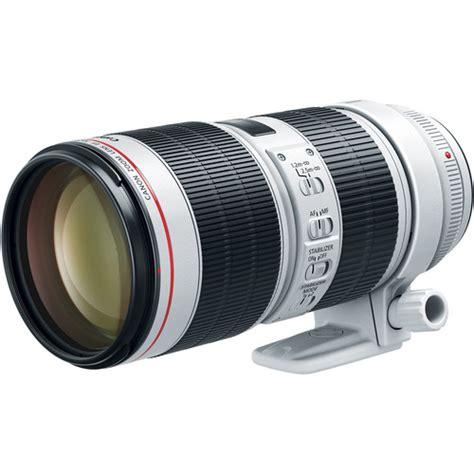 Canon Lens Ef 70 200mm F2 8 L Usm canon ef 70 200mm f 2 8l is iii usm ef 70 200mm f 4l is