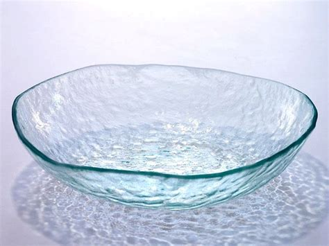 extra large salt l salt extra large glass bowl artisan crafted home