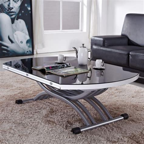 Table Basse En Verre Relevable