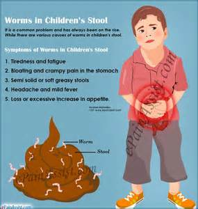worms in children s stool causes symptoms treatment home