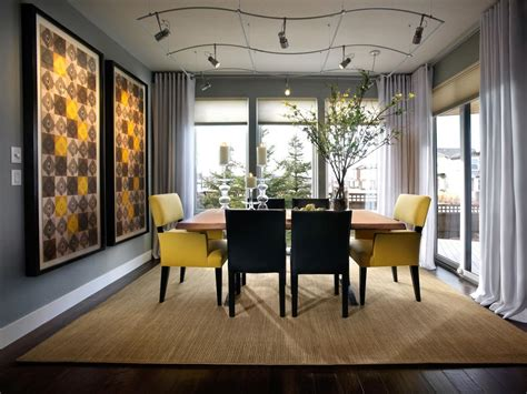 modern dining rooms photos hgtv