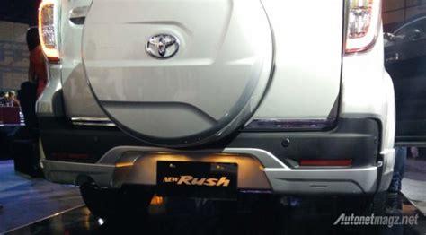 Daihatsu Terios Tanduk Bumper Depan Model Trd Sportivo With Drl impression review toyota facelift 2015 oleh autonetmagz
