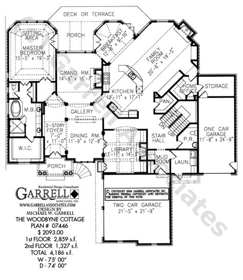 Normandy House Plans by Woodbyne Cottage House Plan House Plans By Garrell