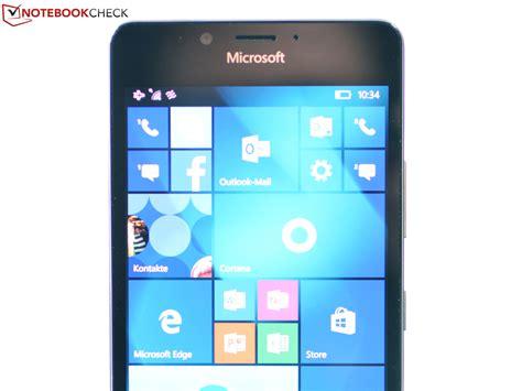 Cek Microsoft Lumia kort testrapport microsoft lumia 950 smartphone