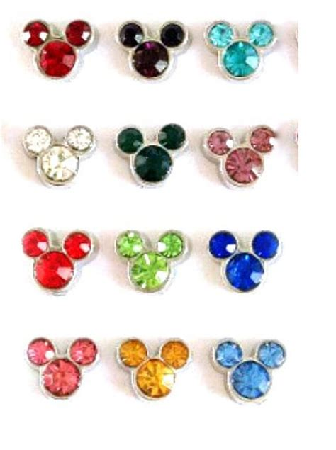 Origami Owl Birthstone Charms - new floating charms birthstones mickey mouse disney