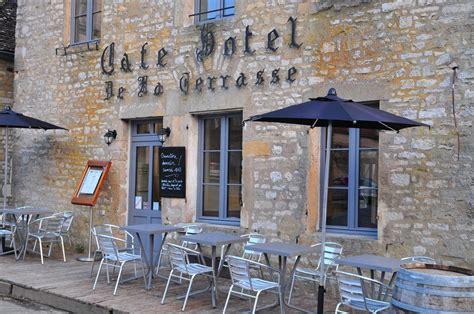 terrasse le sy hotels restaurant sy la terrasse in v 233 zelay